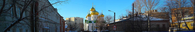 Храм в честь святого преподобного Сергия Радонежского в Нижнем Новгороде